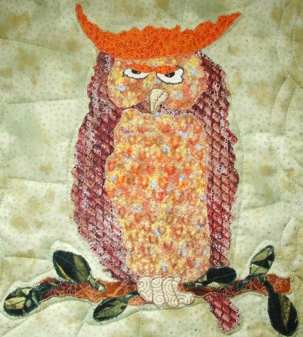 Owl with Attitude Wall Hanging