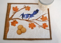My Squares and Raw Edge Applique Pattern Credit:: Anne Carter, Grammies Inspirations