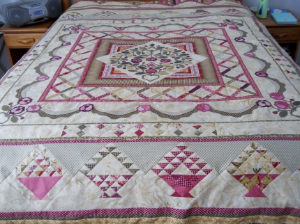 I put this quilt together for a charity fund raiser. It brought in $7000