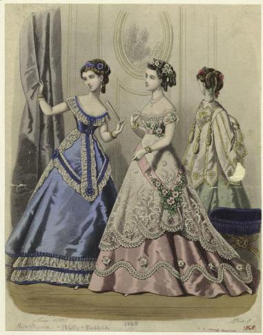1868 European Women