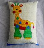 baby giraffe pillow
