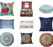 Bohemian+Boho+Pillows+and+Interior+Decor