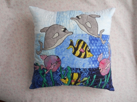 kid-pillow-dolphin-angelfish-home decor